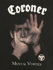 Coroner Vtg Tour Shirt Celtic Frost Death Thrash Slayer Kreator Megadeth Metal
