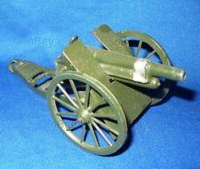 VINTAGE TOY SOLDIER BRITAINS 1201 ROYAL ARTILLERY GUN FIELD 105mm ENGLAND CANNON