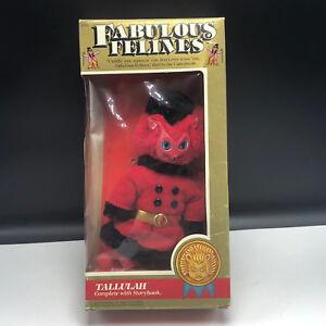 Fabulous Felines Mego Action Figure 198 Phoenix toy cat plush Tallulah red devil