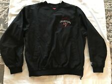 Reebok Men's Super Bowl Champions Buccaneers Nylon Pullover Jacket Size Large