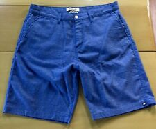 QuikSilver Blue Skate Shorts 34 Waist Excellent Used Condition