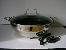 "Cuisinart CSK-250 Green Gourmet 14"" Nonstick Stainless Steel Electric Skillet"