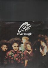 THE CURE - never enough EP 12""