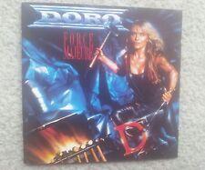 DORO / WARLOCK FORCE MAJEURE GERMAN COLLECTORS EDITION CD 1989 FIRST PRESS ! RAR