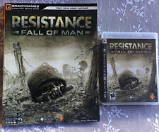 PLAYSTATION 3 RESISTANCE FALL OF MAN GAME & STRATEGY GUIDE