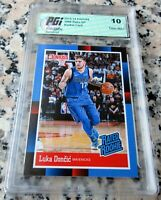 LUKA DONCIC 2018 Donruss #1 Draft Pick RATED Rookie Card RC SP 1988 GEM MINT 10