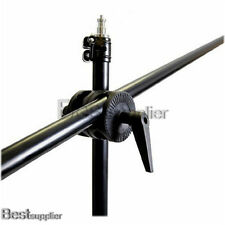 Photo Studio Telescopic Boom Arm Kit Support Grip Clamp for Lighting Stand Set