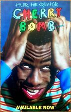 TYLER THE CREATOR Cherry Bomb 2015 Ltd Ed RARE Poster Print! Odd Future OFWGKTA