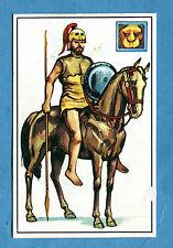 ARMI E SOLDATI - Edis 71 - Figurina-Sticker n. 32 - CAVALIERE MACEDONE -Rec