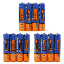 12x AAA 1350mAh 1.2V NiMH Rechargeable Battery GODP B