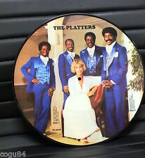THE PLATTERS - NCB PD-80016 - PICTURE DISC