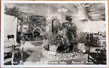 1930s Realphoto Postcard: Rock Garden, New Brainerd Hotel - Minnesota MN