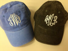 Personalized ladies hat ball cap ~ MONOGRAMMED hat for women ~ Bridesmaids!  NWT
