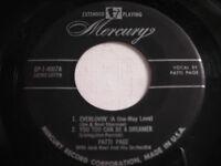 Patti Page Everlovin' ( A One Way Love ) 1950s 45rpm EP
