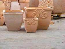 Quadratische Pflanzkorbe Und Kubel Aus Terrakotta Gunstig Kaufen Ebay