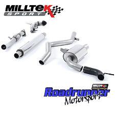"""Milltek Turbo Arrière D'Échappement & Decat Megane RS250 RS265 Coupe 3"""" Resonated SSXRN418"""