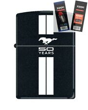 Zippo 2239 Ford Mustang 50 Years Lighter with *FLINT & WICK GIFT SET*