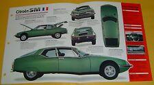 1970 1971 72 74 75 1973 Citroen SM V6 178 hp 2670cc BDJFI info/specs/photo 15x9