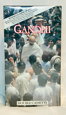 Gandhi, 2-VHS Tapes, 1990, STILL FACTORY SEALED AND NEVER OPENED