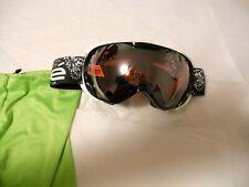 NEW $120 Bolle Mens Orbit Black Ski Goggles With RARE Mirror Lens