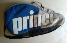 Prince 3 pack Tennis Bag with padded shoulder strap - Blue/Gray