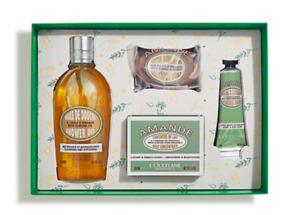 L'Occitane Delicious Almond Collection ShowerOil Soap MilkConcentrate Hand Cream