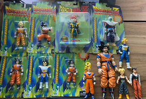 Irwin Dragonball Action Figure Lot NIB & Loose 1997-2002 & Bandai Model Kit