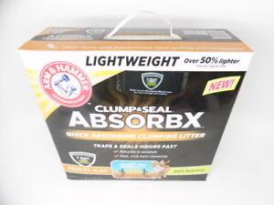 Arm & Hammer Clump & Seal AbsorbX Clumping Multi-Cat Cat Litter - 8.5lb