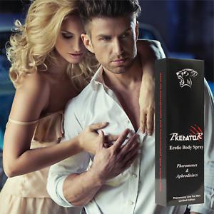 PREDATOR 15ml Pheromones Aphrodisiacs Attract Women Sex for Him Dating