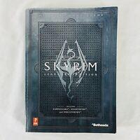 The Elder Scrolls V Skyrim Legendary Edition Prima Official Game Guide w/ Map