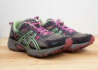 Asics Gel-Venture 5 Women`s Sport/ Running Shoes US 9 Gray/Pink/Seafoam T58N8
