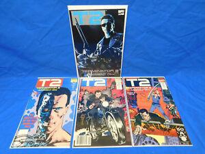 1991 Marvel T2 Terminator 2 Judgement Day 1-3 Complete Set + Trade Paperback