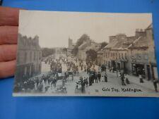More details for haddington  east lothian: eh41.  vintage postcard   gala  creased  lh top corner