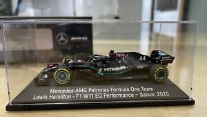 Mercedes Benz Formel 1 AMG Petronas w11 Lewis Hamilton 1:43 Modell Saison 2020