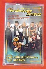 MC: Original Oberkrainer Sextett , 30 Jahre mit Schwung und Herz , Koch , 1995