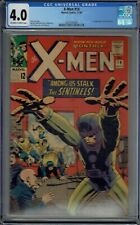 CGC 4.0 X-MEN #14 1ST APPEARANCE OF THE SENTINELS OW/W PAGES 1965 JACK KIRBY
