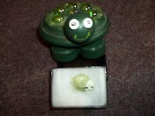 Turtle ceramic pin and hand crafted turtle pottery decore cute turtle lot