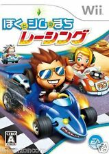 Used Wii Boku to Sim no Machi Racing JAPAN JP JAPANESE JAPONAIS IMPORT