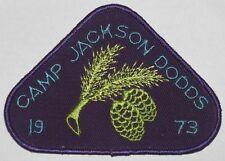 Camp Jackson Dodds (Canada) 1973 Pocket Patch