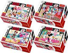 Minnie Mouse Children's Mini Jigsaw Puzzles 1 set of 4 Puzzles