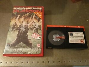 Platoon : Columbia CBT 1107  : Betamax video : Retail / Rental Version