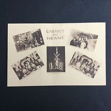 CPA CABARET DU NEANT PARIS Antique Postcard