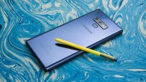 Samsung Galaxy Note9 N960U 128/512 AT&T Boost Sprint Verizon Factory Unlocked