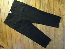 New! Men's Dockers Black Straight Fit Chino Pants   Size 40 X 29