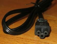 3-Foot Short 3-Prong C5 Mickey Mouse/Clover Style Power Cord Cable (Qty Disc)