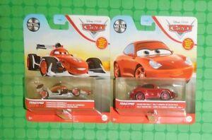 2021 Disney Pixar Cars - Racing Red - Sally & Francesco Bernoulli