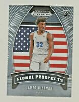 2020-21 Panini Prizm Draft #97 JAMES WISEMAN RC Rookie Warriors QTY AVAILABLE
