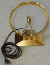 New ListingJefferson Golden Hour Art Deco Electric Mystery Mantel Shelf Clock Runs Slow