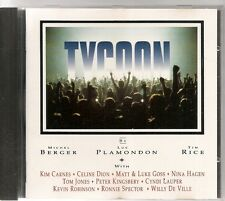 CD COMEDIE MUSICALE 14 TITRES--TYCOON--BERGER/PLAMONDON/RICE--1992