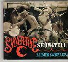 (GQ73) Silvertide, Show & Tell album sampler - 2004 sealed DJ CD